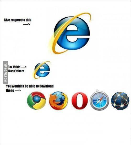 Thanks to IE :D